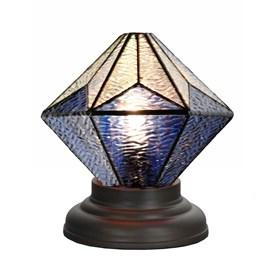 Low Tiffany Table Lamp Akira Blue